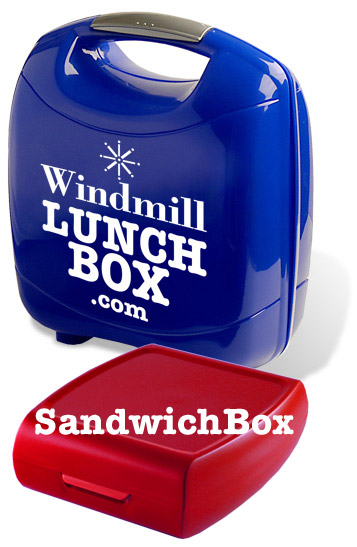 Lunchboxes and Sandwich boxes can be customised with your own branding